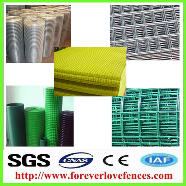 PVC Plastic coated for making crab trap welded wire mesh