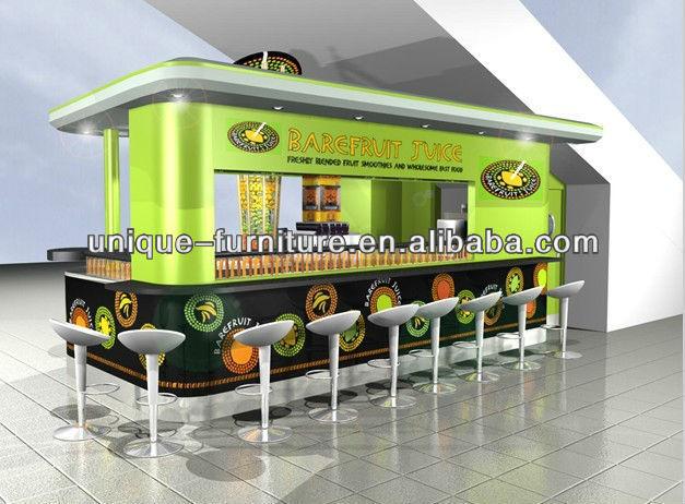2013 bar de zumos kiosco de dise o al por menor madera for Kiosco bar madera