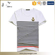 Mens fashion stripe printed tshirt