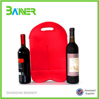 Bottle holder neoprene customized colorful insulated blank cooler bag