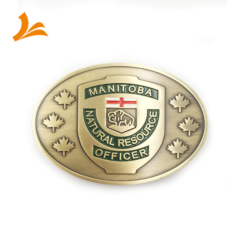 custom high quality manitoba office metal military belt <strong>buckles</strong> for men