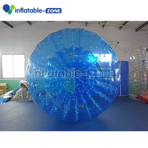 Hot crazy pvc and tpu material colorful zorb ball hill zorb costumes