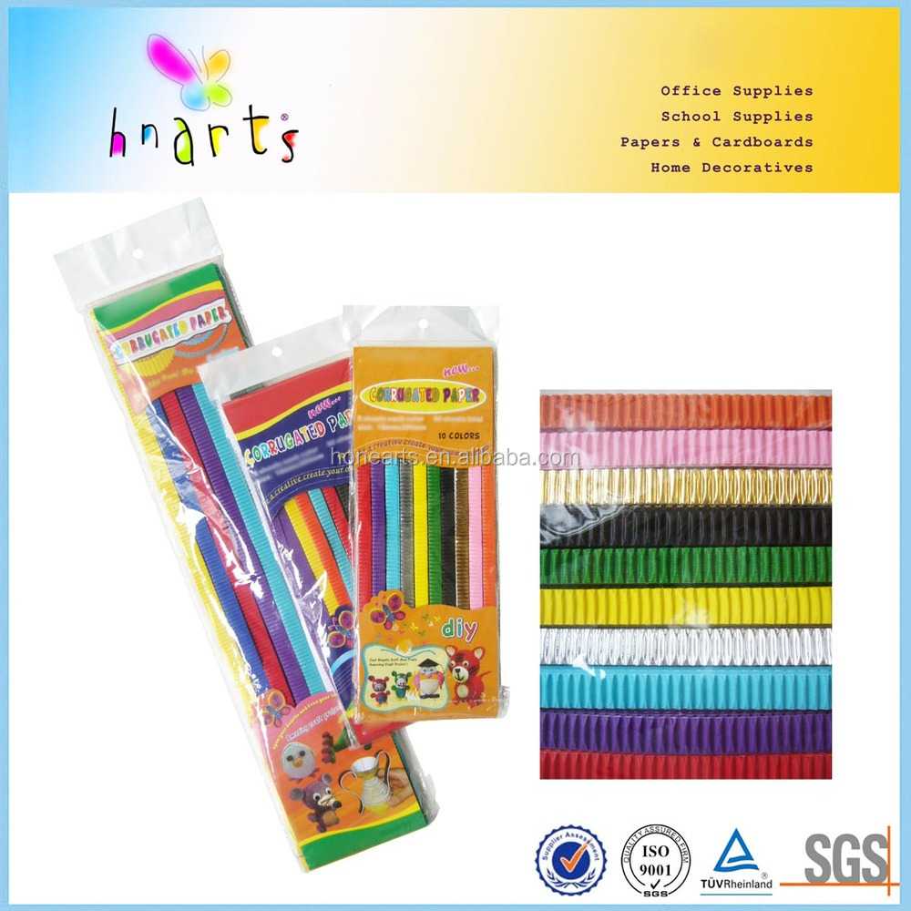 Educational Paper Diy Kit For Kids Corrugated Paper Diy Adult Craft
