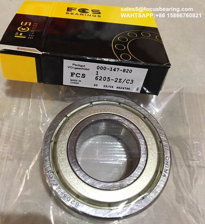 6205 6002 Deep Groove Ball Bearing For Electric Pallet Jacks Load Wheels