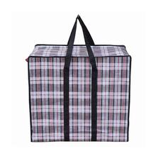 Two bottles of red wine can be loaded pp woven shopping bag