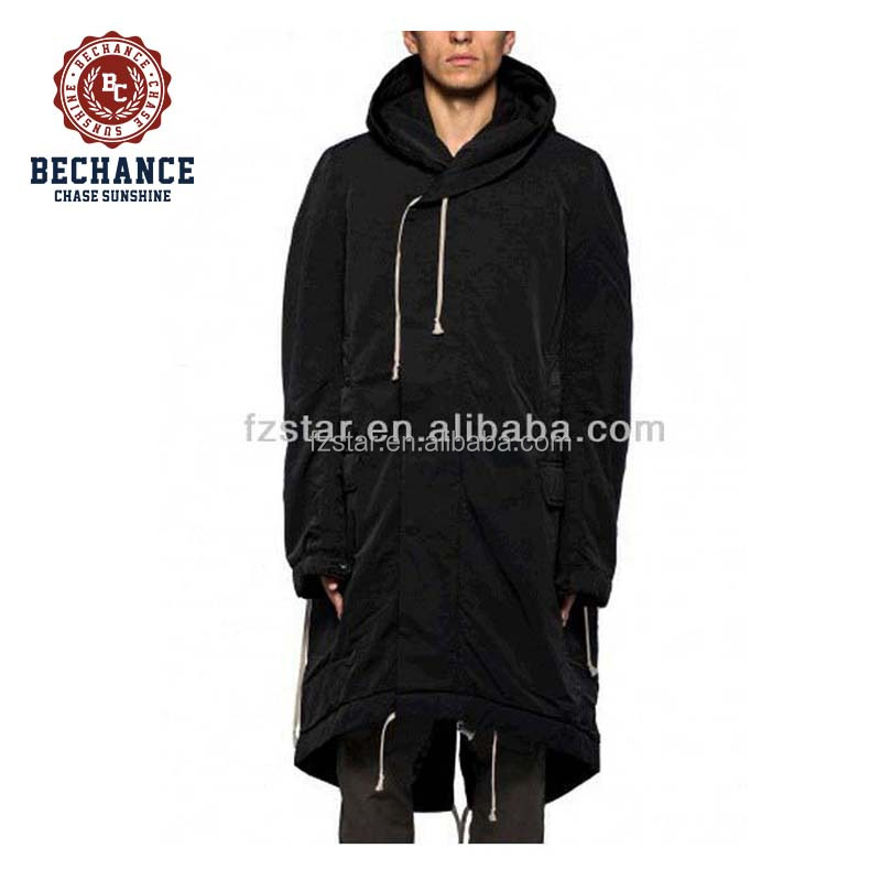 Men's Long Padded Parka Coat PQ253