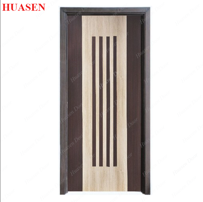 Simple design indian wooden door buy indian interior pvc for Door design catalogue in india