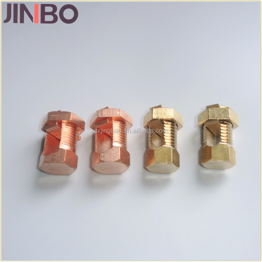 Electrical Wire Connectors Types Brass/copper Split Bolt Clamp - Buy ...