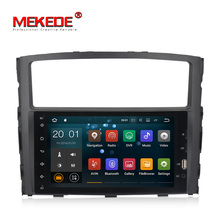 "MEKEDE 8 ""full touch android 8 auto dvd gps-player für Mitsubishi Pajero V97 2006 mit stereo <span class=keywords><strong>video</strong></span> audio 2G RAM + 16G ROM"