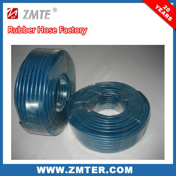 3/8 in. Dia x 50 ft. lastic Quick Fittings PVC flexible expanding water hose/PVC expandable garden hose