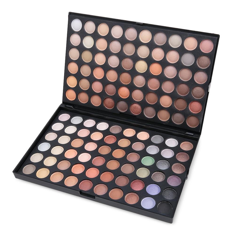 120 Color Eyeshadow Makeup Matte Earth Tone Series Beauty