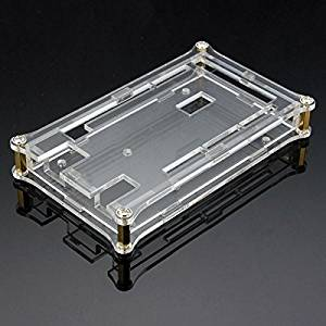 Transparent Acrylic Shell Box For Arduino MEGA2560 R3 Module Board