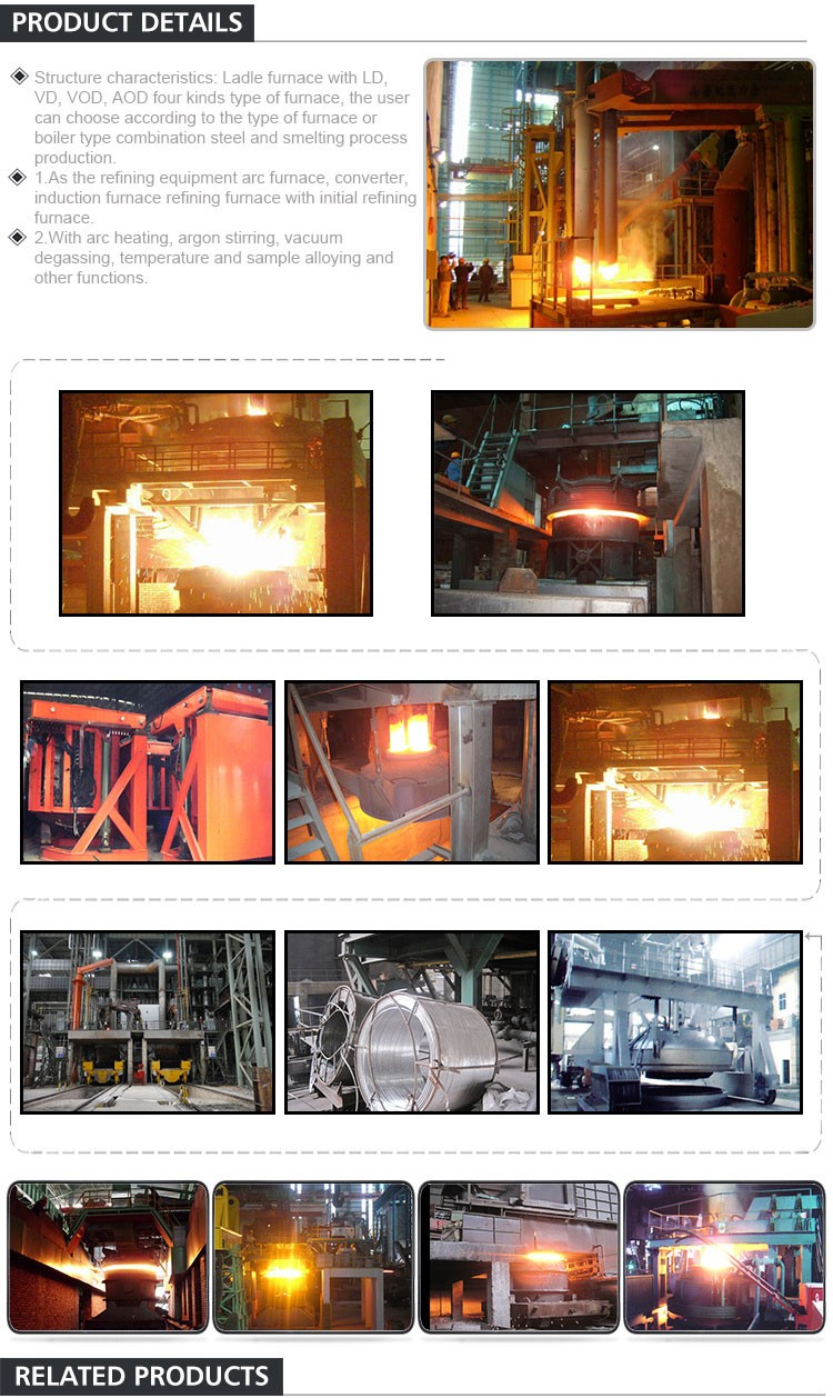China Manufacturers Supply Steel Making Used Electric Arc Furnace For Sale