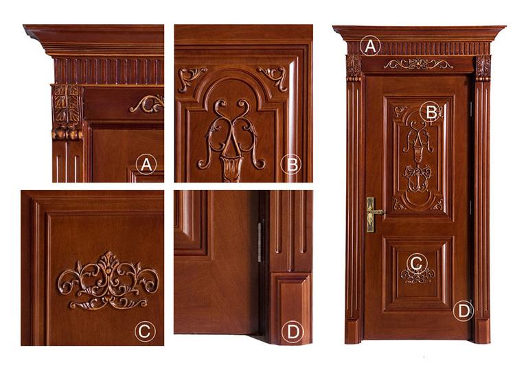 Modelos de puertas de madera excellent puertas para bao - Modelo de puertas de madera ...