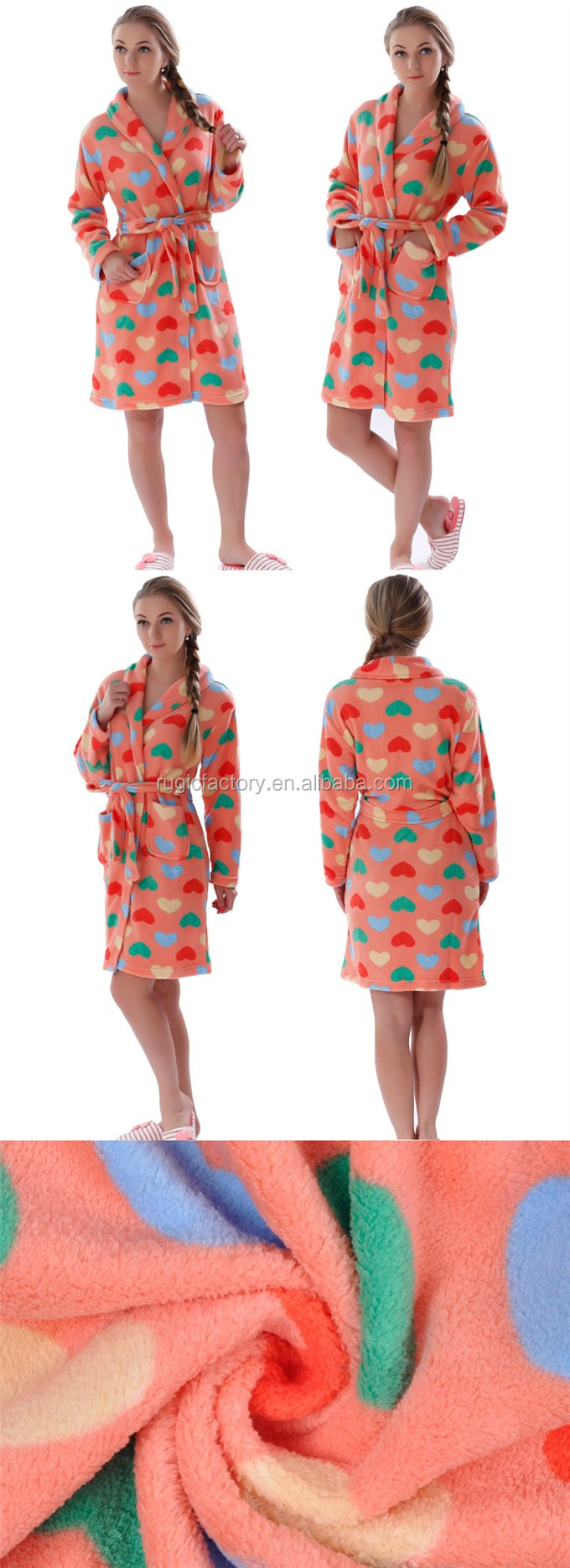 45f58509e5 Women Coral Fleece Warm Bathrobe Plus Size Adult Onesie Nightgown Kimono  Dressing Gown Sleepwear Pajamas for