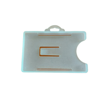 wholesale mould injection rigid plastic id card holder
