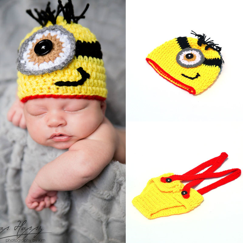Wholesale cute cartoon baby newborn infant photography props