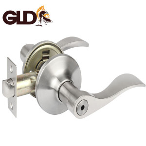 Atlanta cerradura de manijas zinc alloy brass cylindrical door tubular handle lever lock