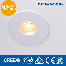 dimmable led 10w downlight 2700k