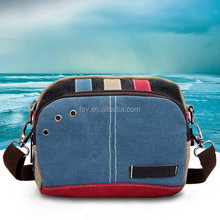 China Export Shoulder Bag Fashion Canvas College Bags Girls