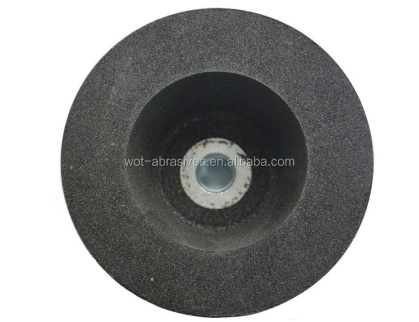 Abrasive Resin Silicon Carbide Straight Cup Stone Grinding Wheel