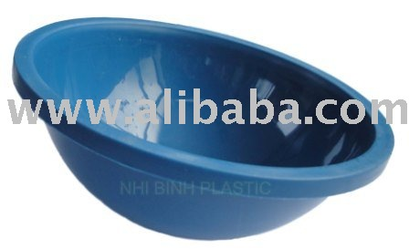 Plastic Bowl for tapping rubber tree