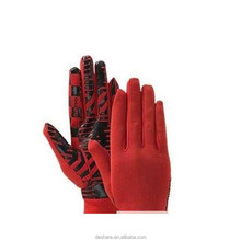 eco-friendly silicone used for sport anti-slip gloves print