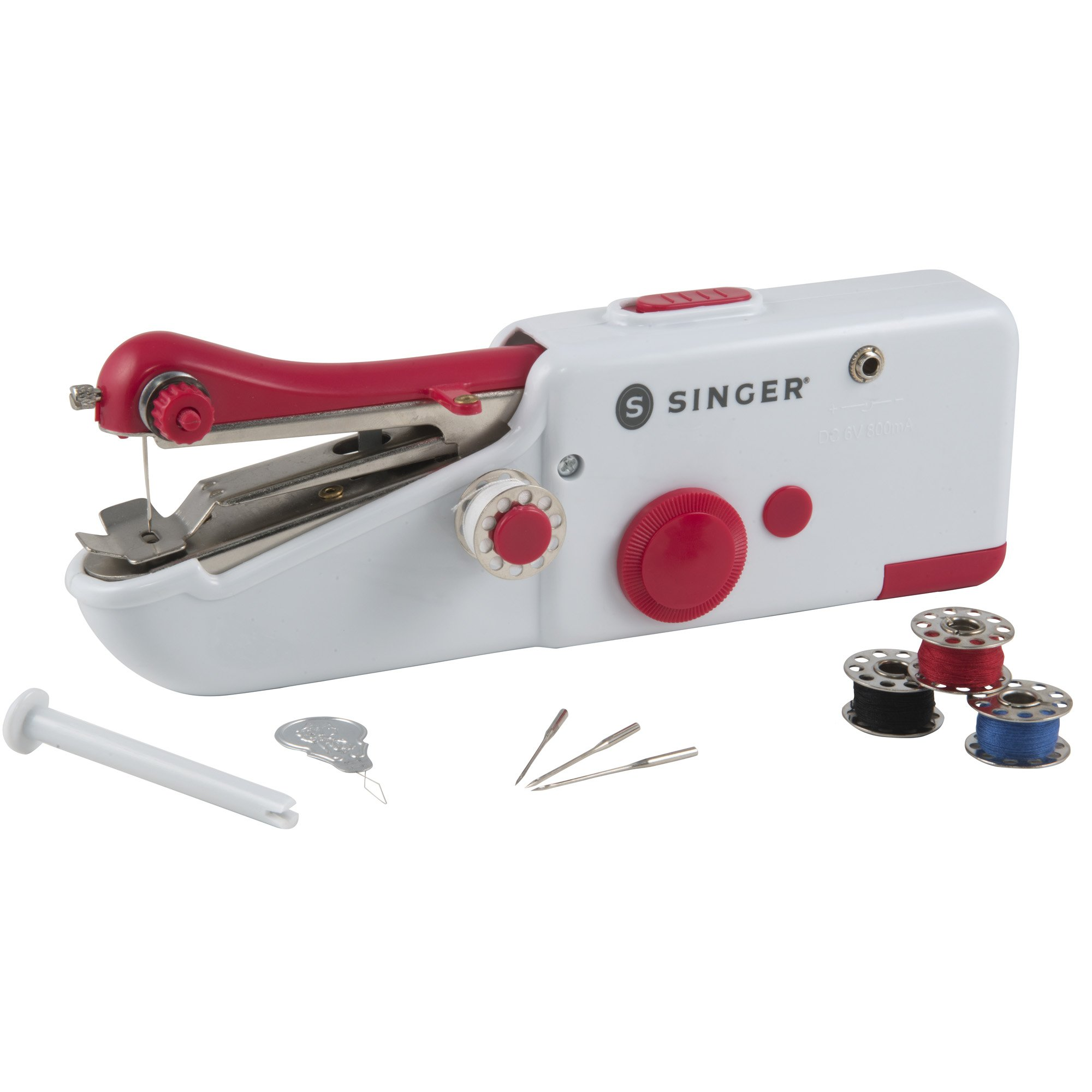 Get Quotations · SINGER Stitch Sew Quick, Portable Sewing Repair Kit for  Quick Repairs Only