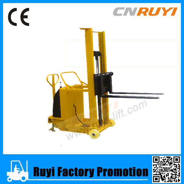 With Low Height Working Superior Hydraulic Manual Pallet Stacker/Manual durable Electric Stacker Mini
