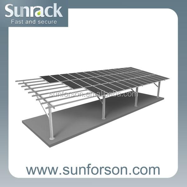 Mensola in acciaio struttura di montaggio per parcheggio for Kit per posto auto coperto