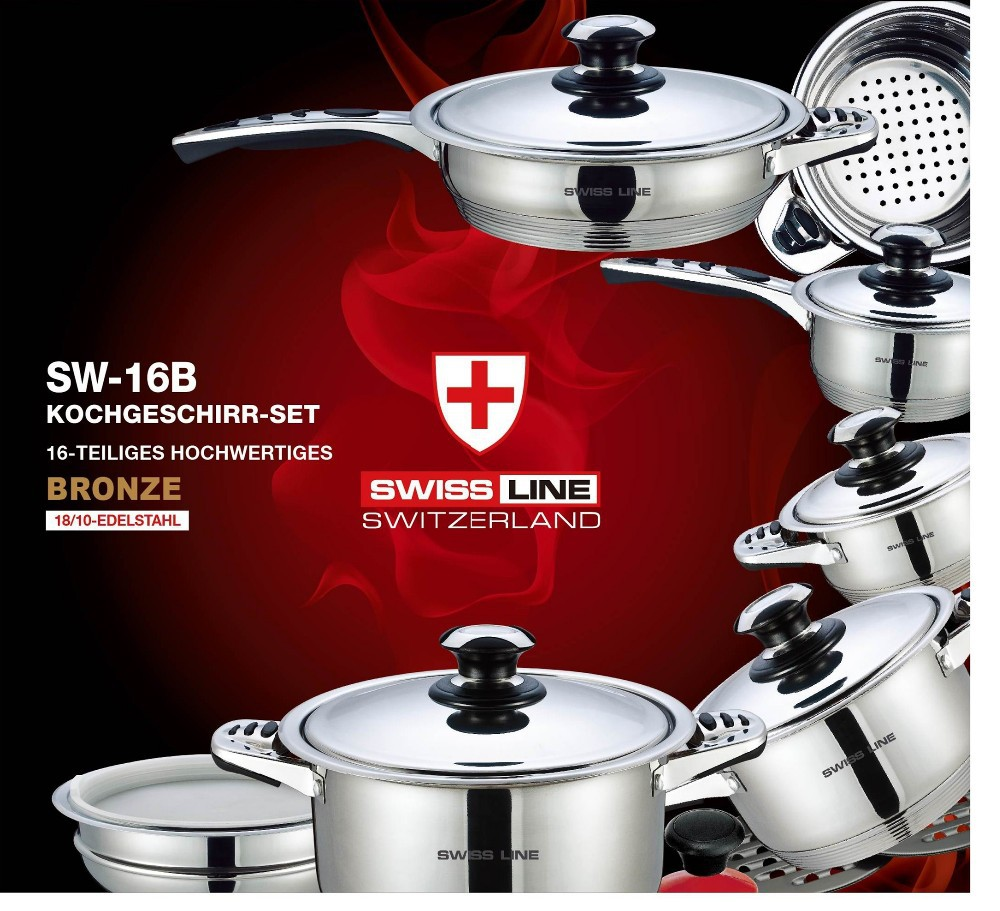 Swiss line stainless steel kitchen accessory stainless for Kitchen set q line