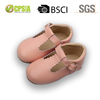 Wholesale Leather Kids Shoes Cute T Bar Baby Girl Shoes Toddler Shoes