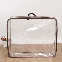 Transparent plastic zipper 침구 <span class=keywords><strong>베개</strong></span> quilt cover carrier bag 대 한 포장 침대 sheet