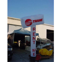 High quality air conditioner shape rent me trane company sky dancer inflatable advertising
