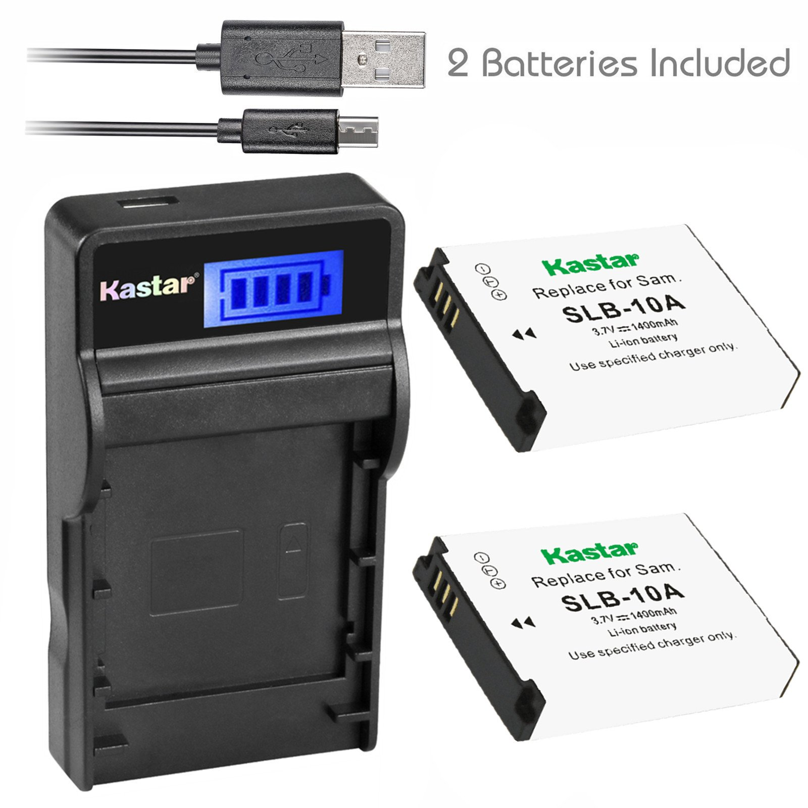 Deluxe Starter Kit for Samsung ES91 Digital Camera and Samsung BP-70A Halcyon Two 1200 mAH Lithium Ion Replacement BP-70A Battery and Charger Kit Memory Card Wallet Multi Card USB Reader