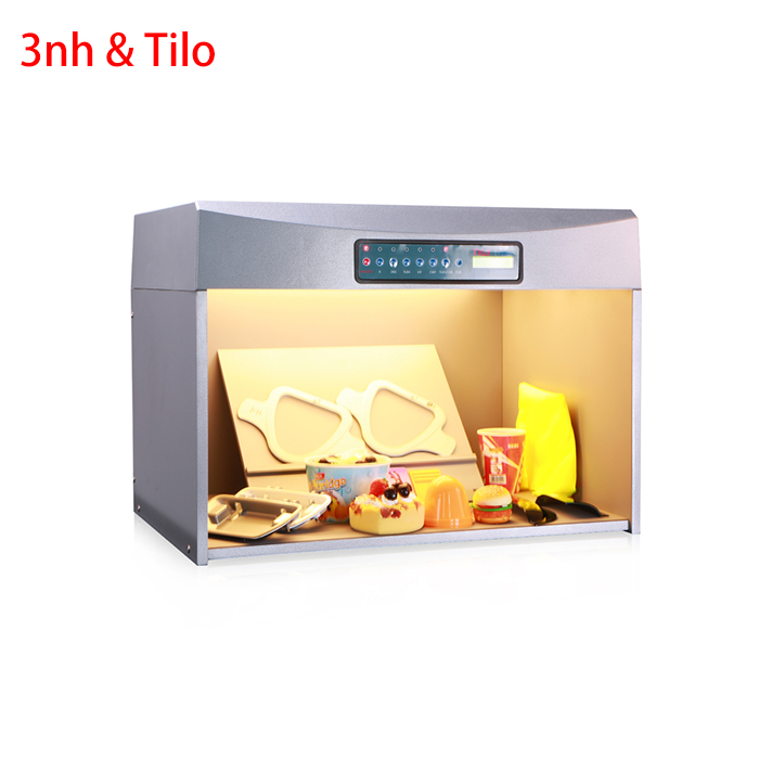 Color controller tilo p60 6 light box tilo big p120 philips d65 light color assessment cabinet