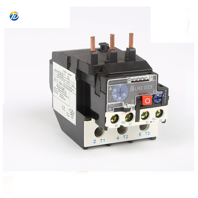 Hot sales Magnetic AC lr2 d23 thermal overload relay price lr2-d2353 lr2-2355