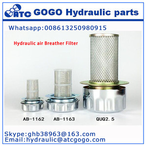 Reputable QUQ Hydraulic air Breather Filter Mounted on the Oil Tank