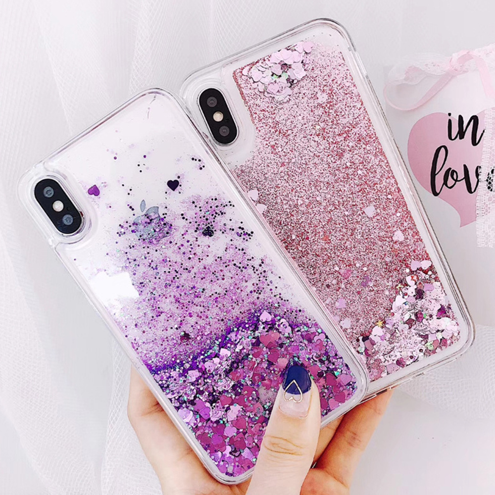Glitter Bling Diamond S10 Case Liquid Quicksand Clear Floating Sparkle Flowing For Samsung Galaxy S10 Soft Cover Stars Hearts Good Reputation Over The World Cellphones & Telecommunications