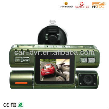 TFT Full HD 1080P DVR Camera Car with 120 Degree Wide Angle Lens and G-sensor