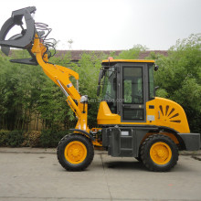 Mini shovel loader 908 wheel loader with pilot control for export