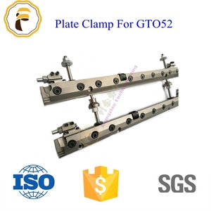GTO 52 offset printing machinery parts for gto52 plate clamp gto 52 ps plate clamp