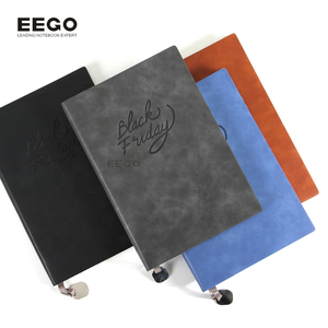 Organizer 2019 small personalized sublimation a5 leather soft cover notebook vintage blank dates with metal free sample