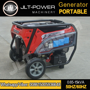 Home use 5kw gasoline generator 5kva electric gasoline generator