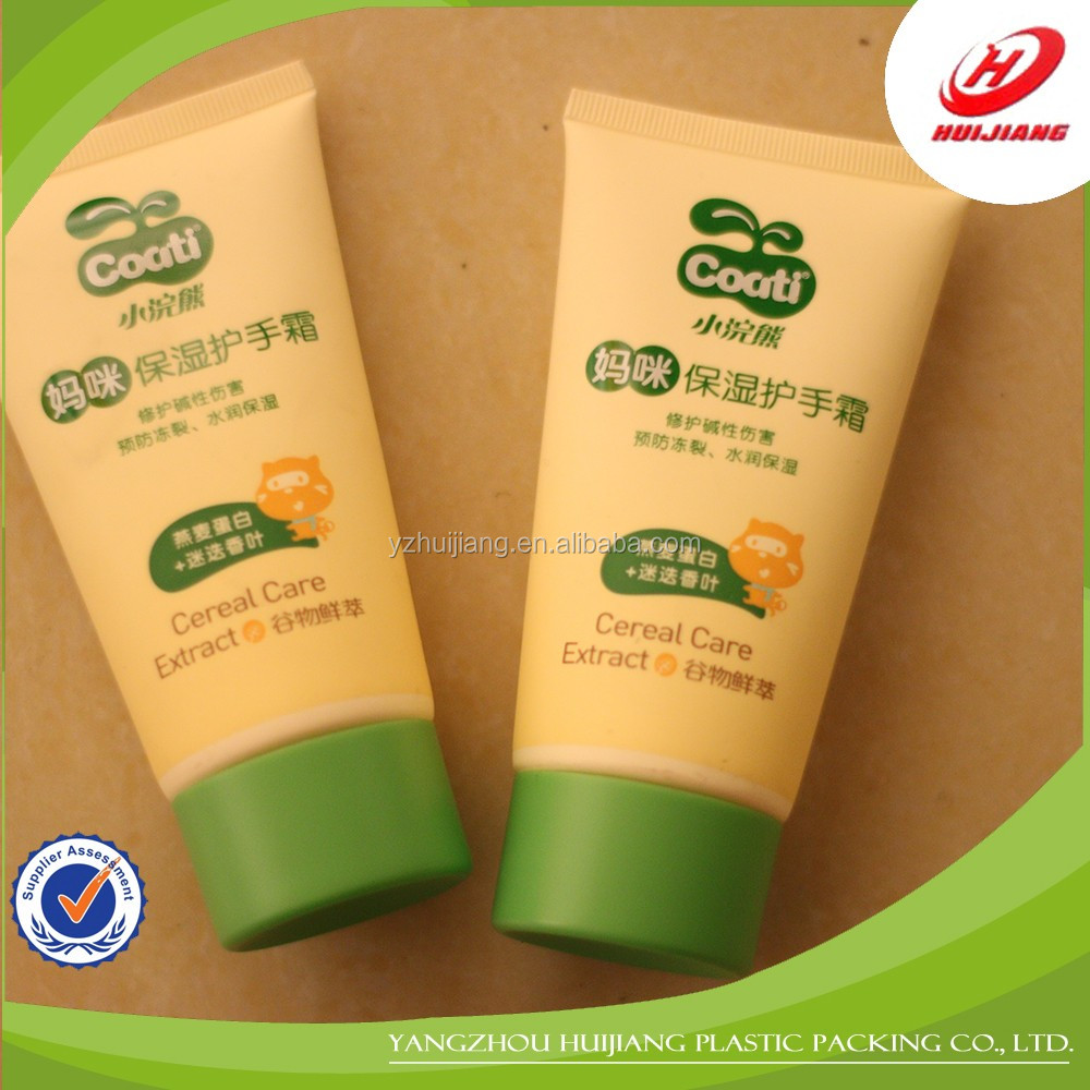 skin care face wash plastic cosmetic tubes packaging