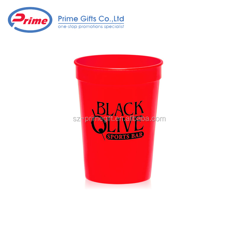 High Quality Durable Using Various Custom Printed Plastic Juice Water Cup