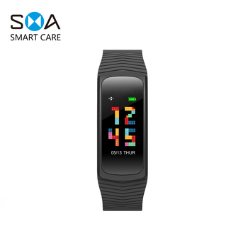 OEM Men Women 2018 Sport Ip68 Dual Slim Smart Watch Bracelet Connect With Phone For Android And Ios Wristband