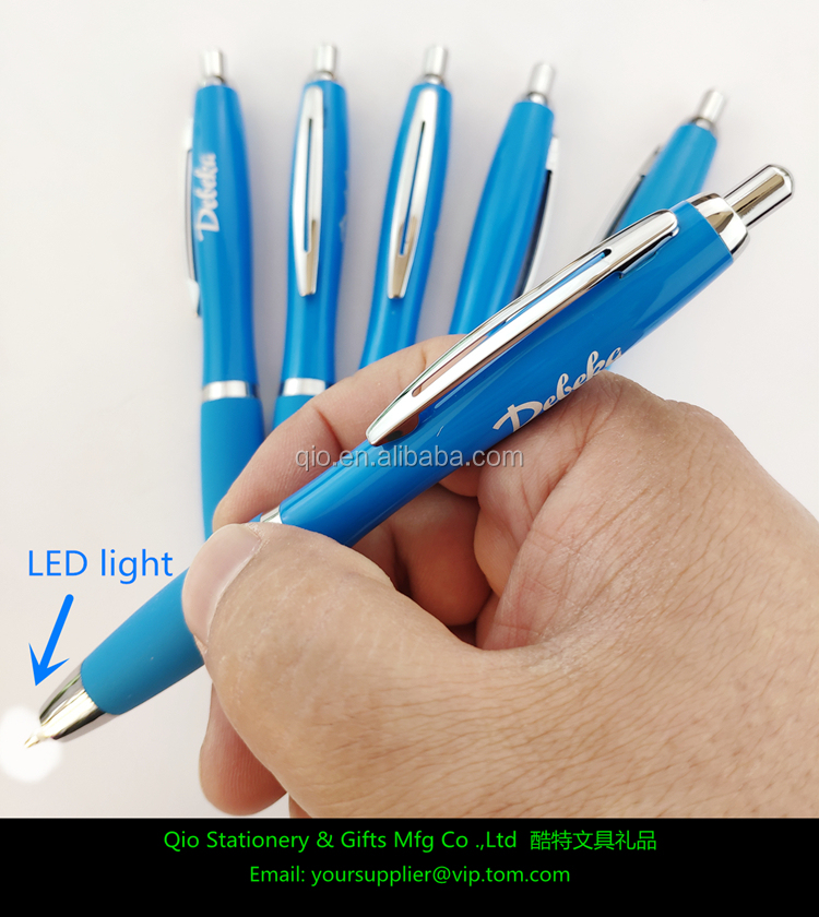 new promotion  hot sale led ball pen