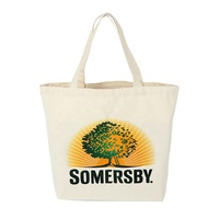 Wholesale Cheap Printing Shopping Book Cotton Shoulder Zipper Messenger Organic Canvas Tote Bag