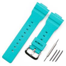 Аксессуары для часов, ремешок из смолы с пряжкой для мужчин, резиновый ремешок для часов Casio, BABY-G, BA-111, BA-110, BA-112, часы для женщин(Китай)